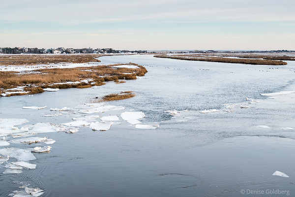 looking to Plum Island from the bridge