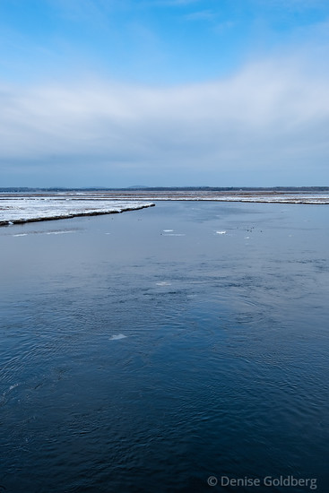 from the bridge to Plum Island, looking to the north