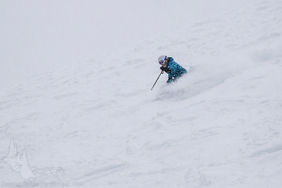 Rippin' in a Blizzard