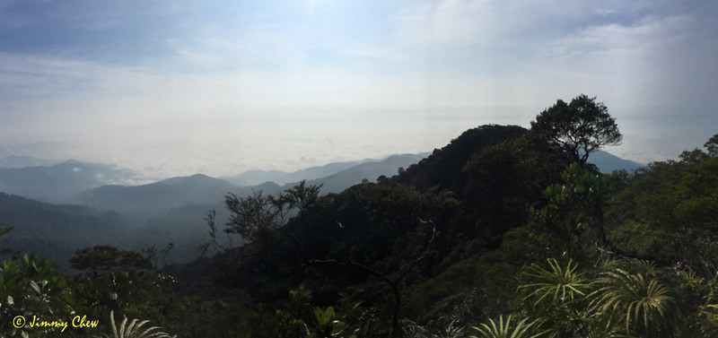 Pano shot of the valleys beyond.
