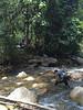 Crossing Sg Lawin (2nd river). Must get wet.