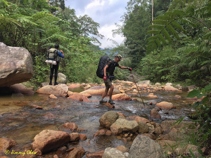 """Trekking pole or hiking stick helps with river crossing.<br /> <br /> Album: <a href=""""https://www.facebook.com/media/set/?set=a.10154052364198529.1073742057.645243528&type=1&l=bbe4fac2ce"""">https://www.facebook.com/media/set/?set=a.10154052364198529.1073742057.645243528&type=1&l=bbe4fac2ce</a>"""