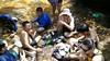 Tea break at Jeram Lesung