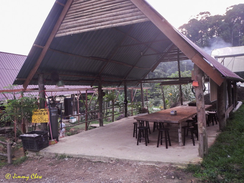 Second dining area - if there are many customers.