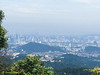 KL view from the peak. KL Tower and Petronas Twin Towers are in sight.