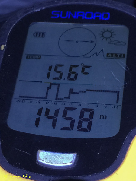 15.6 C past midnight.