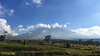 Pano shot of Mount Rinjani.
