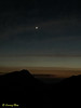 Approaching dawn. That's Venus.