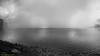 Mist curtain blocking Anak Segara view