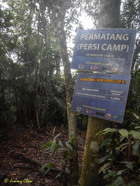 Kem Persi is after Kem Lebah. No water source here.