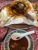 Kampar curry chicken bread.