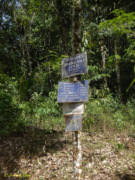 Checkpoint 2 signpost.