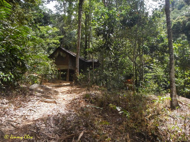 Approaching Pondok Orang Asli (CP2).