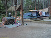 Double hammock for recreation. I have that camo pop-up tent too!