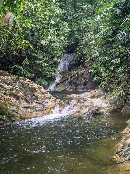 Sg Perah falls is just a walking distance away.