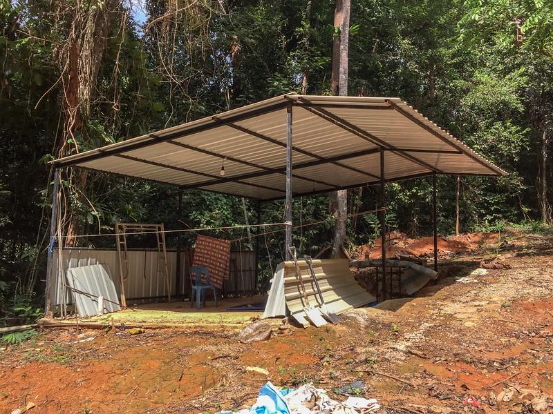 An earlier shelter.