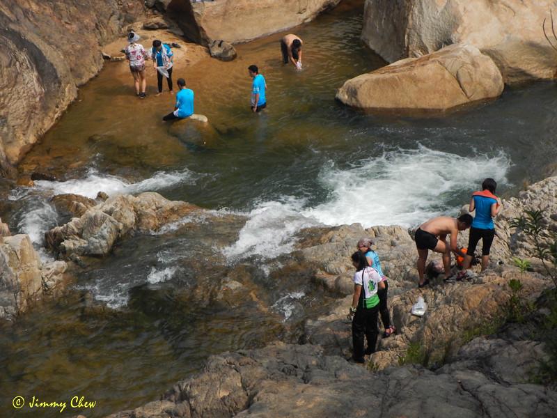 View from boulder opposite Berkelah.