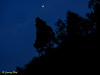 The night crescent.
