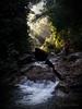 Upper Makau Falls.<br /> — with Tan Han Bin.