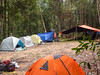 Large campsite.