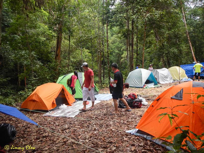 Campsite good for 40 pax.