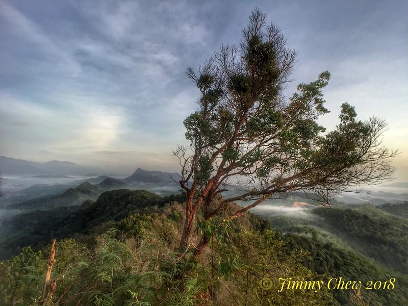 North view of Raka from Acacia peak.