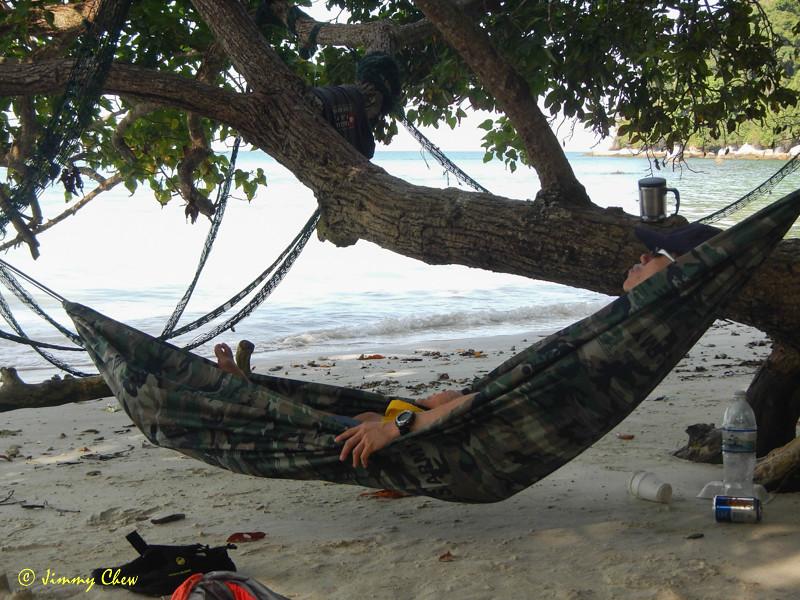 Yes... bring hammock!