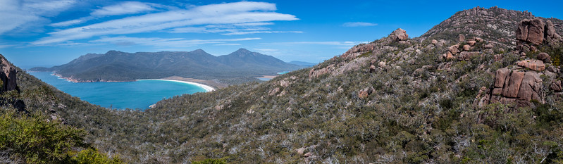 Wineglass Bay and Mt Mayson