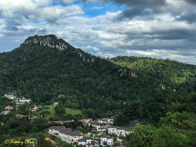 Tabur West ridge.