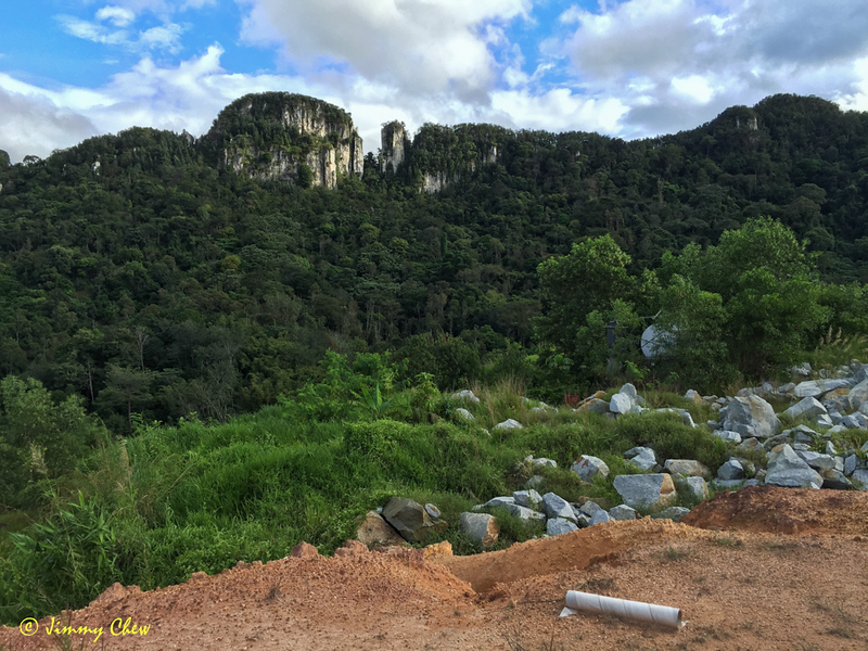 Tabur East and ravines view from Rock Garden.
