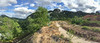Pano of Klang Gates Quartz Ridge from Tabur Rock Garden.