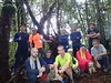Group photo at Mount Cecil.<br /> <br /> Photo credit: Basman