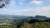 Gunung Rajah and Bukit Raka in one shot.