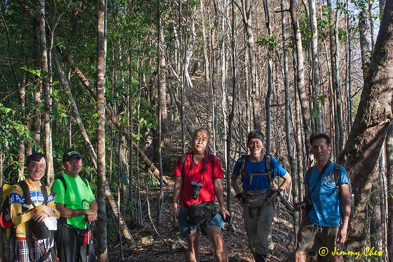 Group shot at the ridge.