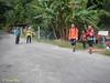 Exit to Kampung Sungai Relang Orang Asli settlement.