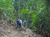 Up the steep slope to Batu Putih.<br /> <br /> #CapeRachado #TanjungTuan<br /> #BatuPutih