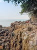 A bit of climbing here.<br /> <br /> #CapeRachado #TanjungTuan<br /> #cliff