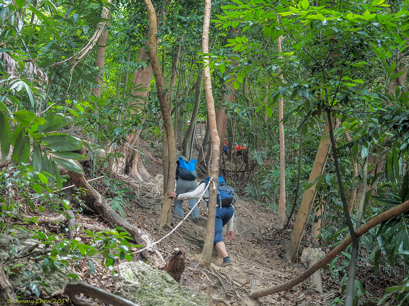 It takes about 10 minutes to get to the base of Batu Putih.<br /> <br /> #CapeRachado #TanjungTuan<br /> #BatuPutih