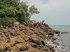 Descending to the rocky shore.<br /> <br /> #CapeRachado #TanjungTuan