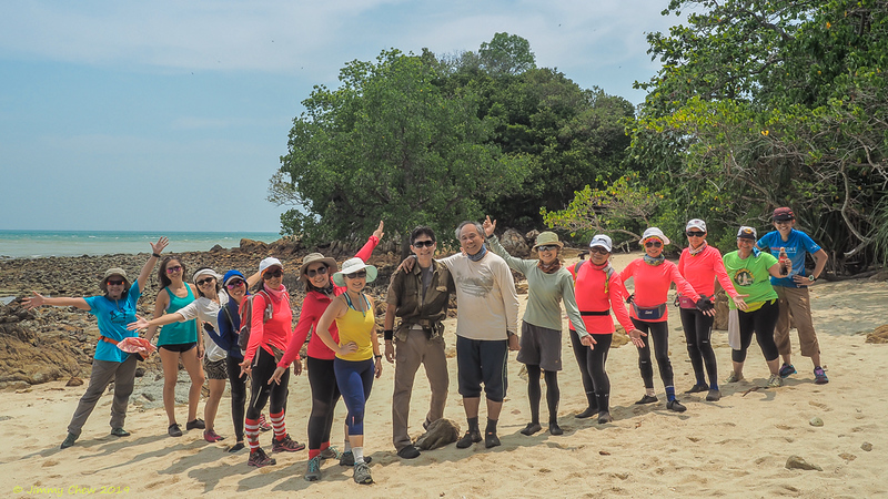 The group made it a complete group photo session, at Pulau Intan.<br /> <br /> #PulauIntan #CapeRachado #TanjungTuan