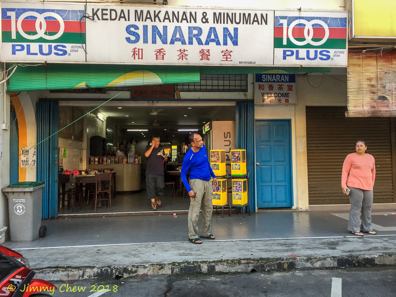 Where we met at Kuala Pilah for breakfast. Tks for the location bro CL Chong.