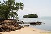Pulau Mesjid seen across Teluk Rubiah.