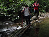 OLYMPUS DIGITAL CAMERA<br /> On the way back - crossing the Kem Lolo stream again.