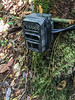 Caution - please do not touch this camera trap!