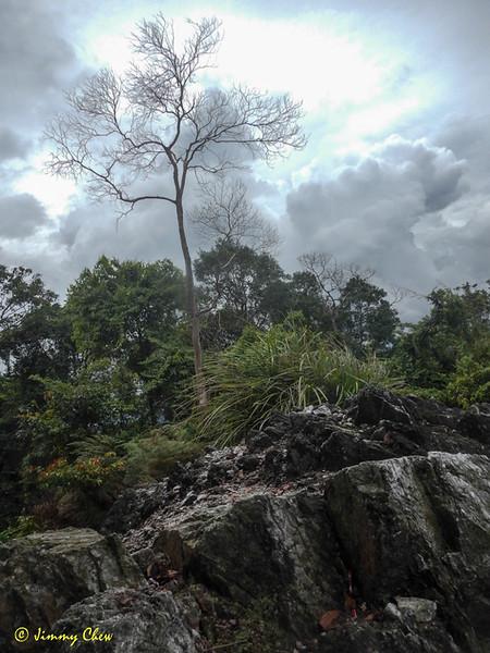 End-peak of Batu Kumbang.