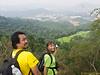 Snapshot from the peak towards secret garden.