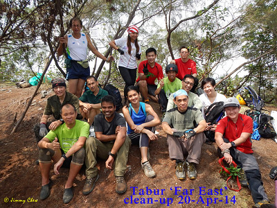 Project Clean-Up at Tabur 'Far East'