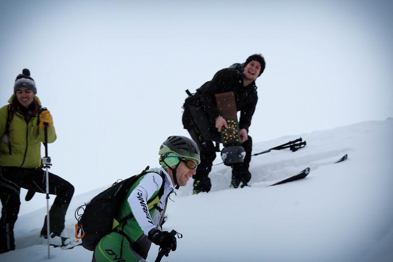 J3 : Le gros point positif du samedi, les copains sont là, ça aide !<br /> Photo : Gaël CURTILLAT