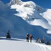 """Tour de la Sambuy en mode """"gros skis"""" avec les copains grenoblois.<br /> Saison définitivement baujue avec l'enneigement exceptionnel dans les Préalpes"""