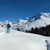 Fin janvier, la neige arrive timidement.<br /> Une des plus belles journée de l'hiver, bon ski sans prise de tête dans les alpages du Beaufortain.<br /> Les petits sont chez mamie, tout va bien !